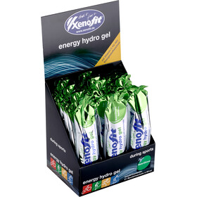 Xenofit Energy Hydro Gel Box 21x60ml Mate/Zitrus